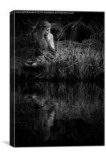 Wood Nymph - Lost in Thought, Canvas Print
