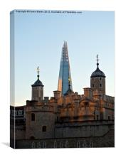 London's Towers, Canvas Print