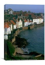 West Shore, Pittenweem, Canvas Print