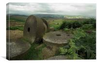 Stanage Stones, Canvas Print