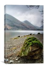 Caudwell Beck from Brothers Water, Canvas Print