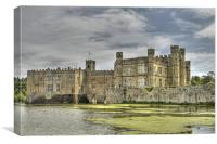 Leeds Castle Kent, Canvas Print