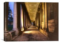 Greenwich Royal Naval College HDR, Canvas Print
