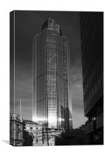 Tower 42 London, Canvas Print