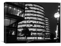Offices on the Southbank , Canvas Print