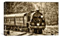 Bluebell Line Trains, Canvas Print