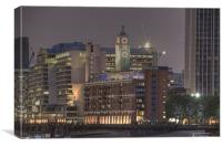 The Oxo Tower HDR version, Canvas Print