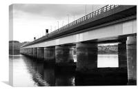 Tay Bridge, Canvas Print
