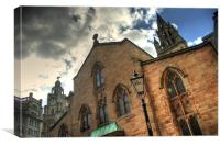 LIverpool Parish Church, Canvas Print