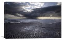 THE APPROACHING STORM, Canvas Print