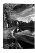 Uppermill Viaduct, Canvas Print
