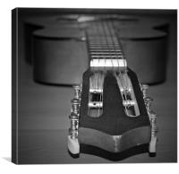 Acoustic guitar, Canvas Print