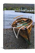 The Rowing Boat, Canvas Print