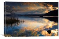 Ullswater Sunset, Canvas Print