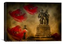 Armistis Day, Canvas Print