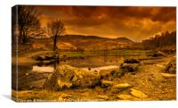 Lakeland Cumbria, Canvas Print