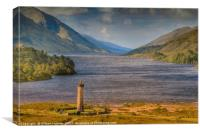 Glenfinnan Monument Scotland , Canvas Print