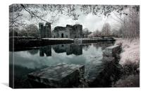 Kirby Muxloe Castle, Canvas Print