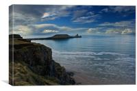 Worms Head, Gower Peninsula, Canvas Print