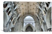 York Minster, Canvas Print