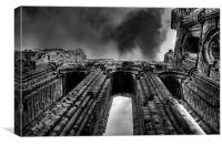 Tynemouth Priory, Canvas Print