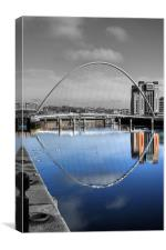 Reflecting Tyne, Canvas Print