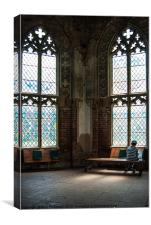 Learning Library, Canvas Print