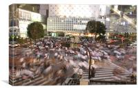 Shibuya Crossing, Canvas Print