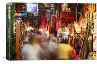 East Jerusalem Market, Canvas Print