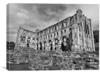 Ruins of Rievaulx Abbey, Canvas Print