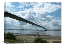 Humber Bridge, Canvas Print
