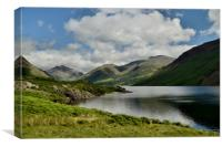 Wastwater Lake District, Canvas Print
