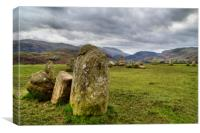 Castlerigg Stone Circle, Canvas Print