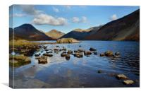 Wastwater , Canvas Print