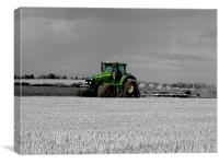 Working the Fields, Canvas Print