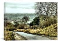 West Heslerton, Canvas Print
