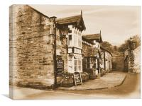 The Pub | Newspaper, Canvas Print