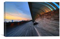 henderson waves, Canvas Print