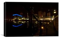 Salford Quays BBC Building, Canvas Print