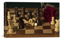 Chess Conflict I, Canvas Print