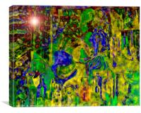 Digital Mind That Hot Tea II, Canvas Print