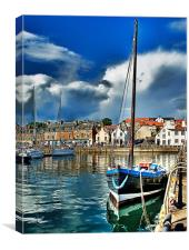 Anstruther Harbour, Canvas Print