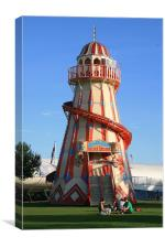 cardiff helter skelter, Canvas Print