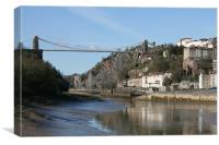 Avon Gorge, Canvas Print