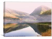 Buttermere and Fleetwith, Canvas Print