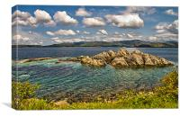 Scotland Loch Ailort, Canvas Print