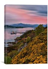 Sunset on the Isle of Skye, Canvas Print