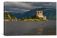 Evening Light on Eilean Donan Castle, Canvas Print