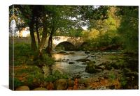 Skelwith Bridge, Canvas Print