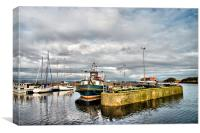 Nairn Harbour, Canvas Print